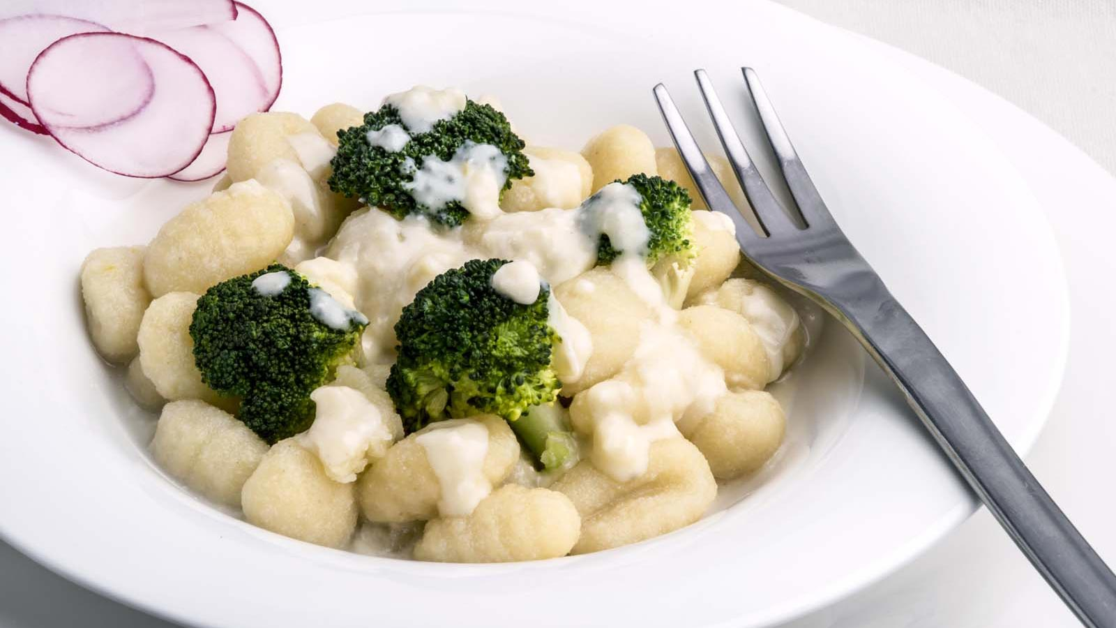 Cheese & Broccoli tiny Gnocchi