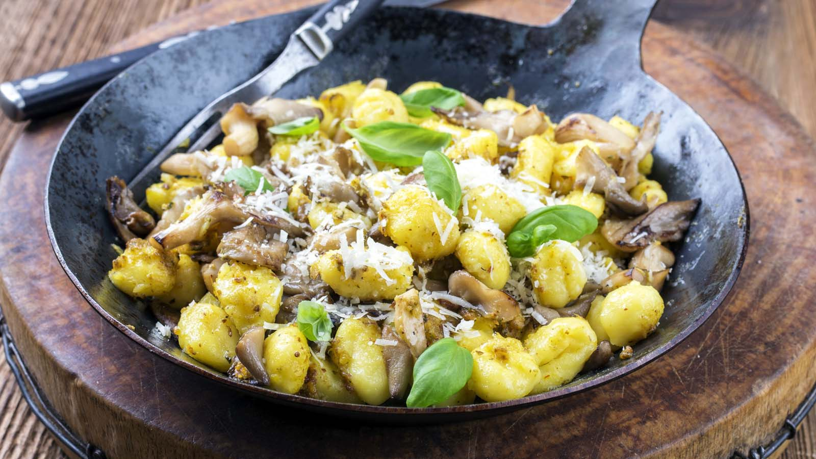 Seasonal Mushrooms Gnocchi