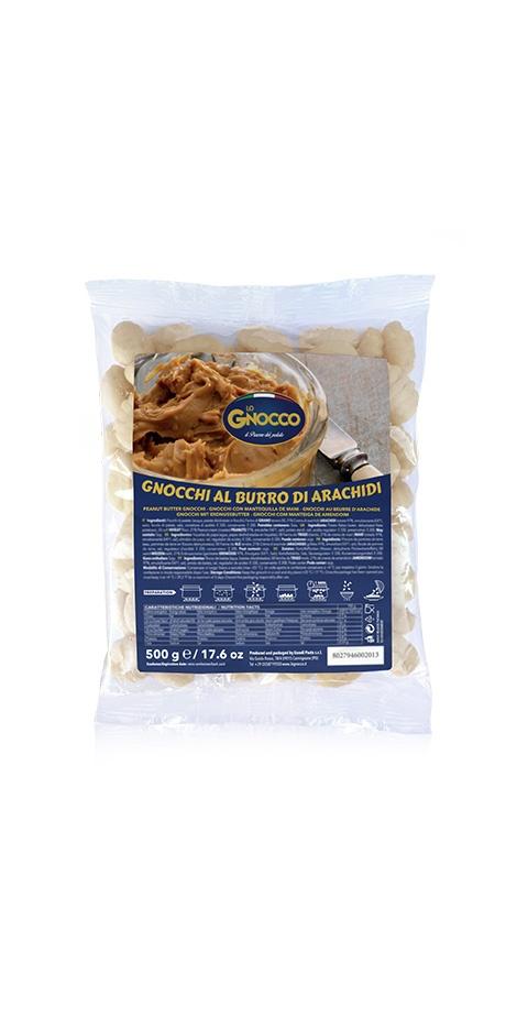 Peanut butter gnocchi