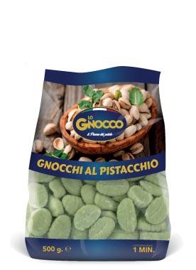 Gnocchi al pistacchio