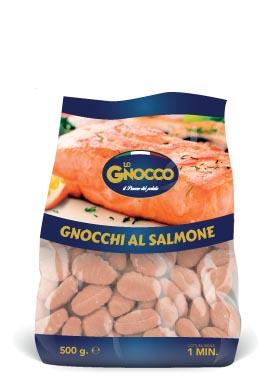 Gnocchi al salmone
