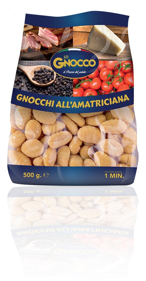 Gnocchi all'amatriciana